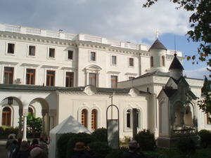 Holy Cross Church in Yalta, Ukraine, Ukraine